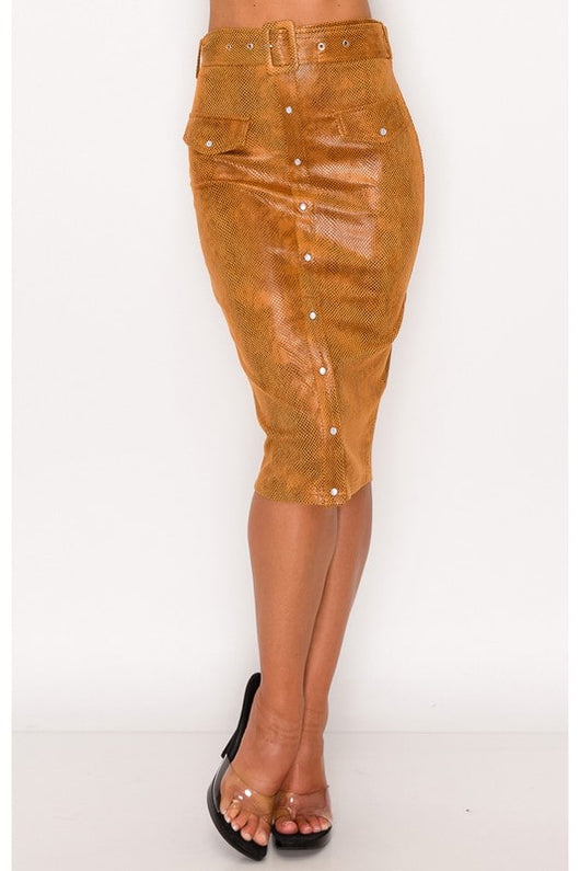 Wild Thing Pencil Skirt