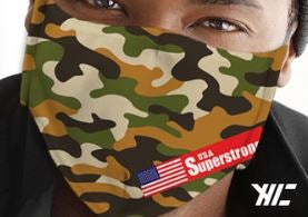 Adult Camouflage Face Masks