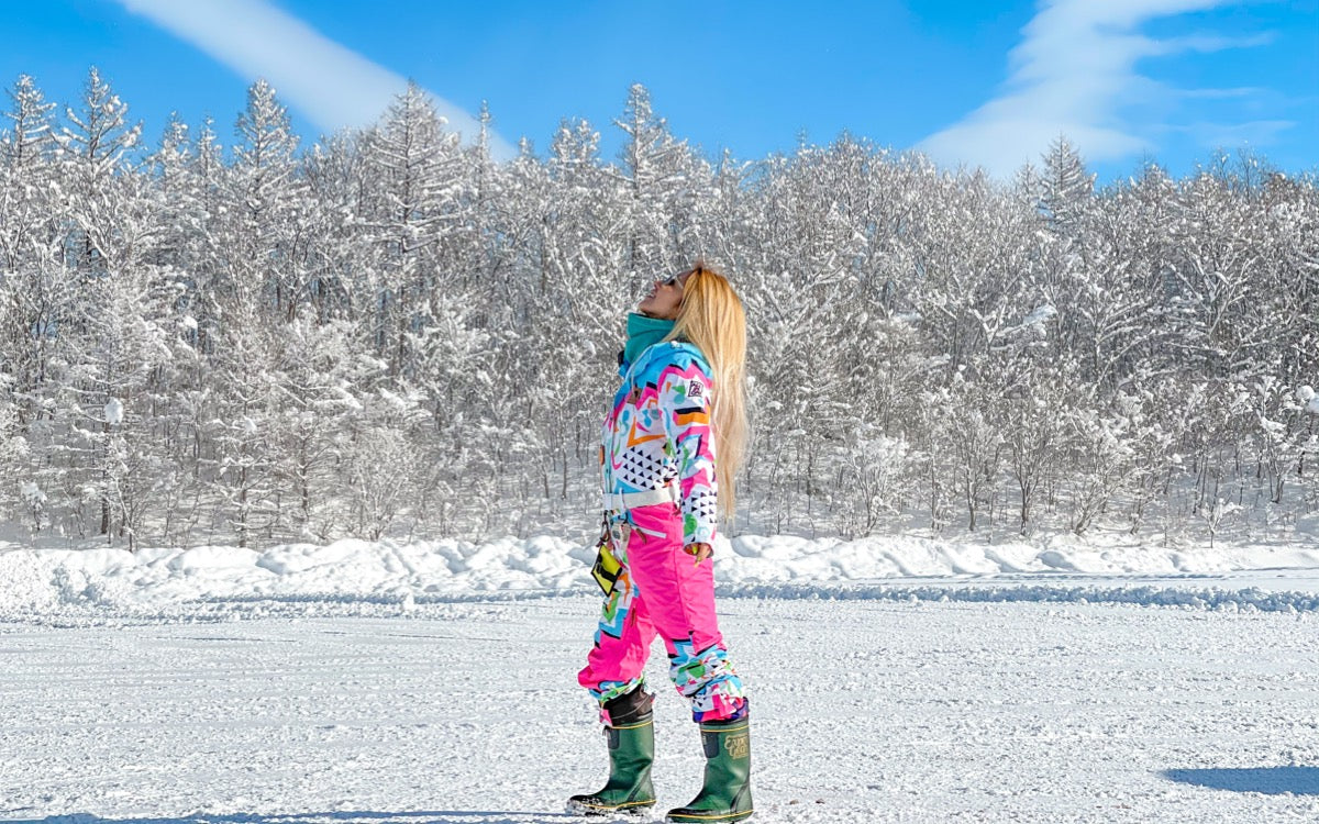 The mental health benefits of skiing