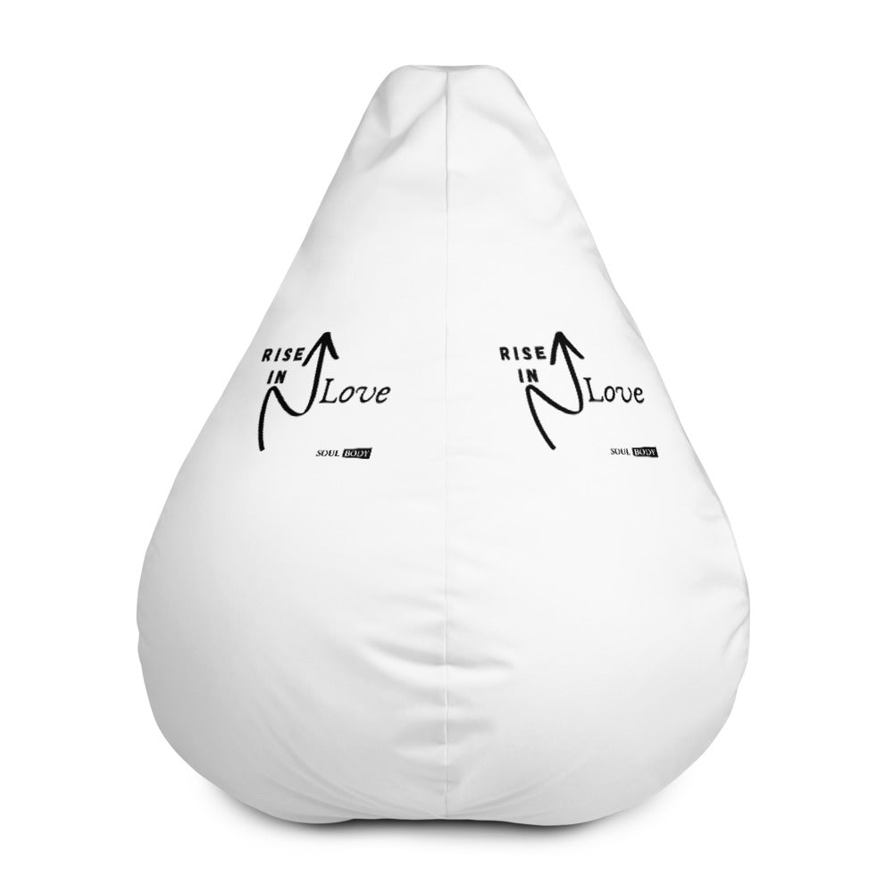 Rise In Love Bean Bag Chair Cover