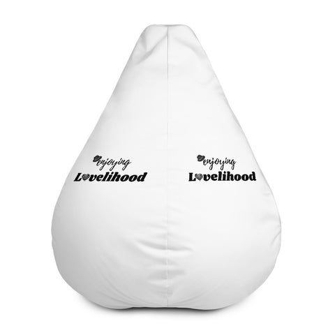 Enjoying Lovelihood Bean Bag Chair Cover