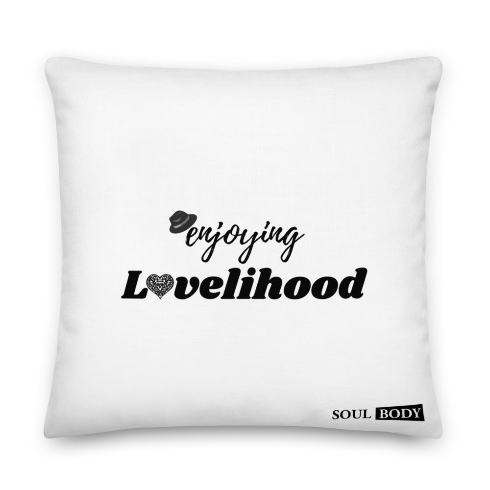Enjoying Lovelihood Premium Pillow