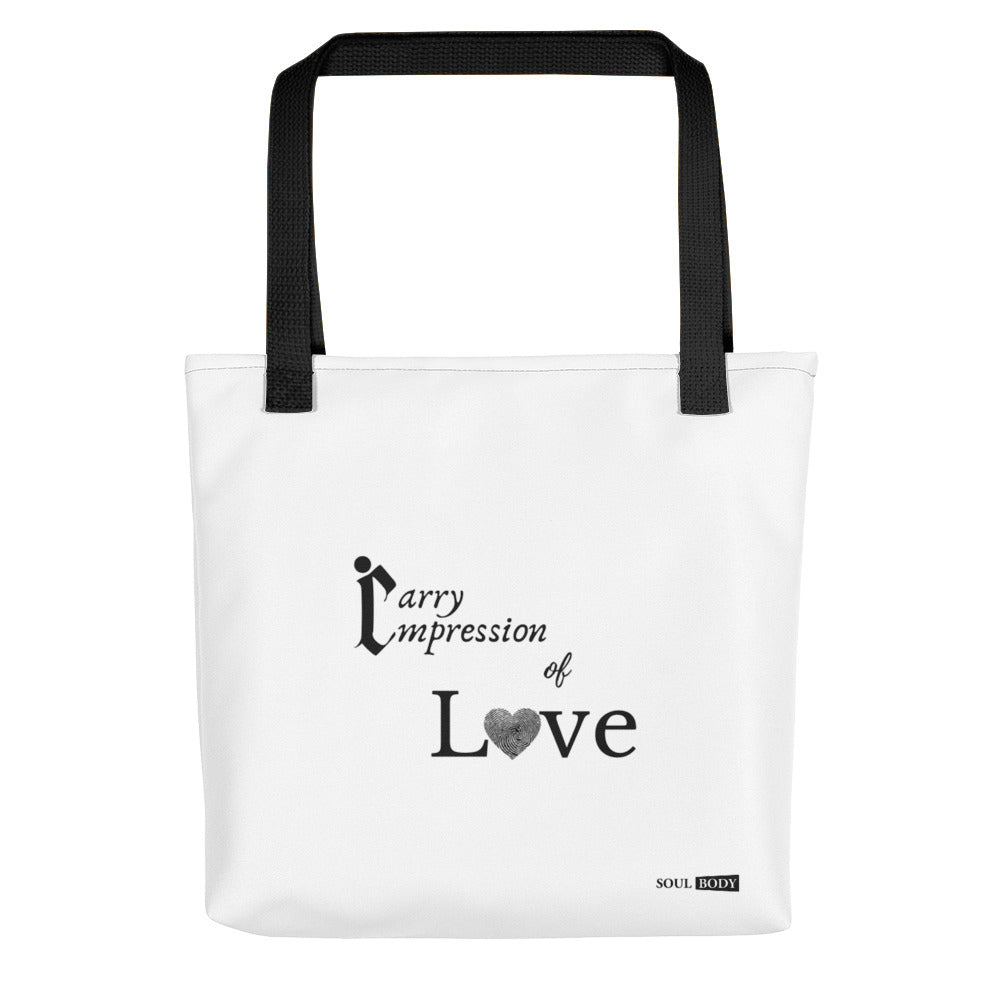Carry Impression of Love Tote bag