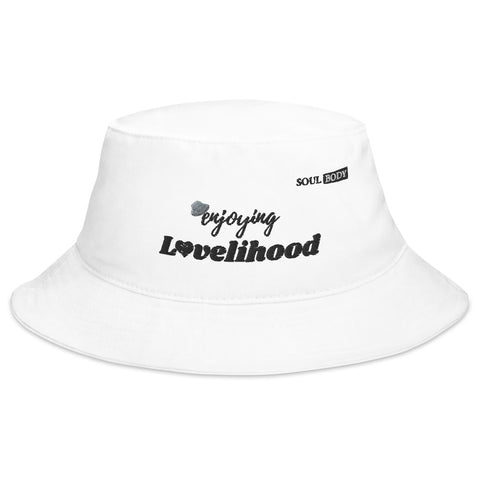 Enjoying Lovelihood Bucket Hat
