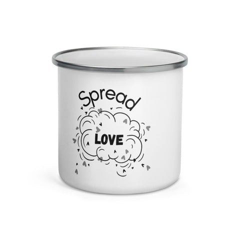 Spread Love Enamel Mug