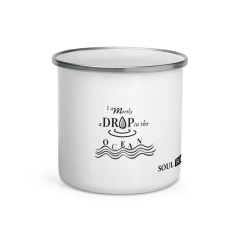 Drop in the Ocean Enamel Mug