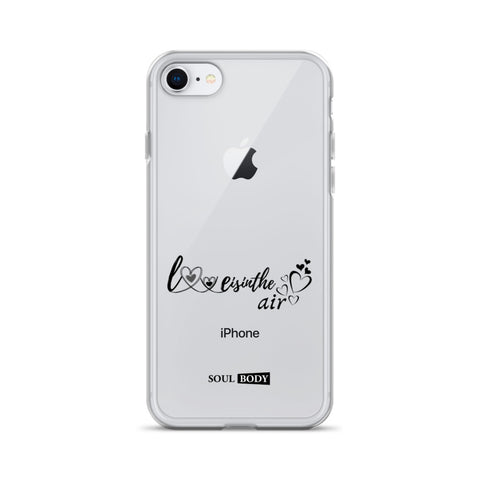 Love is in the air iPhone Case