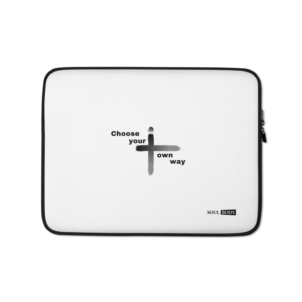Choose your own way Laptop Sleeve