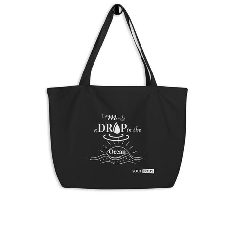 Drop in Ocean Large organic tote bag