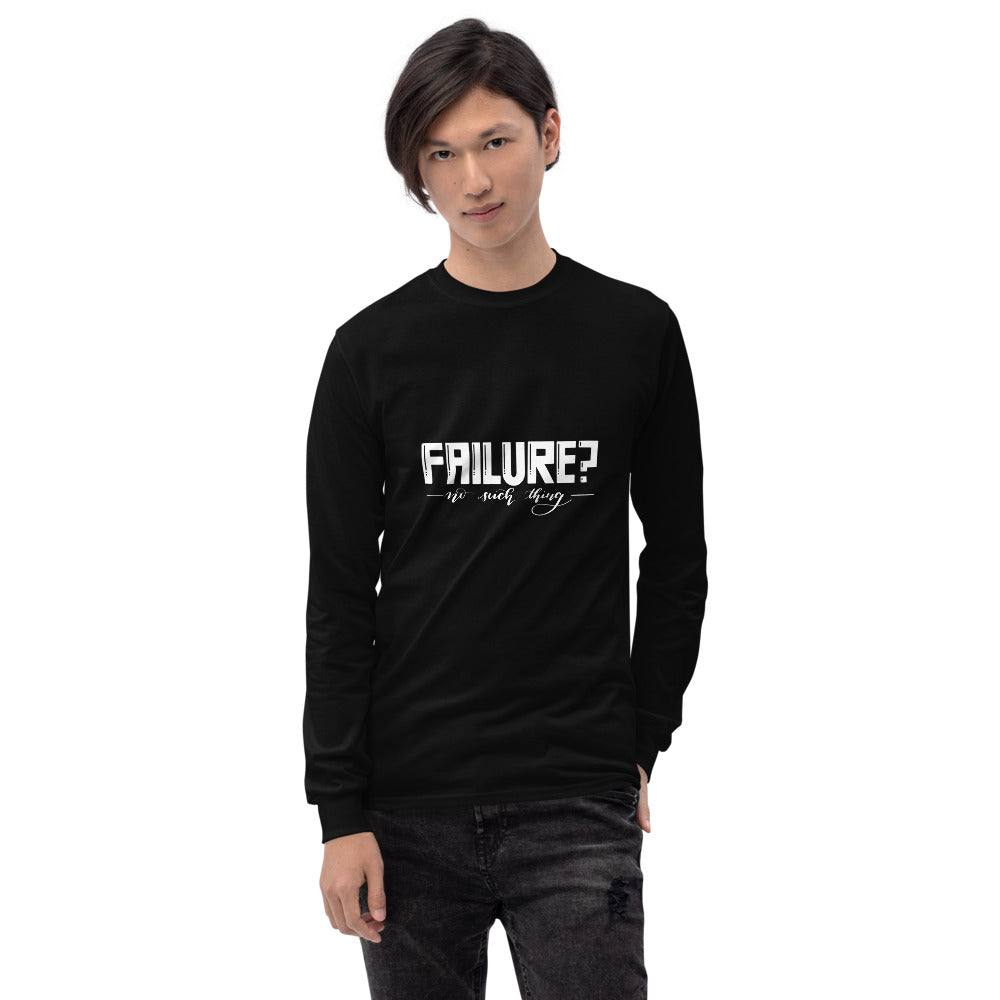 Failure No Such Things Printed Men Black Long Sleeve T-Shirt