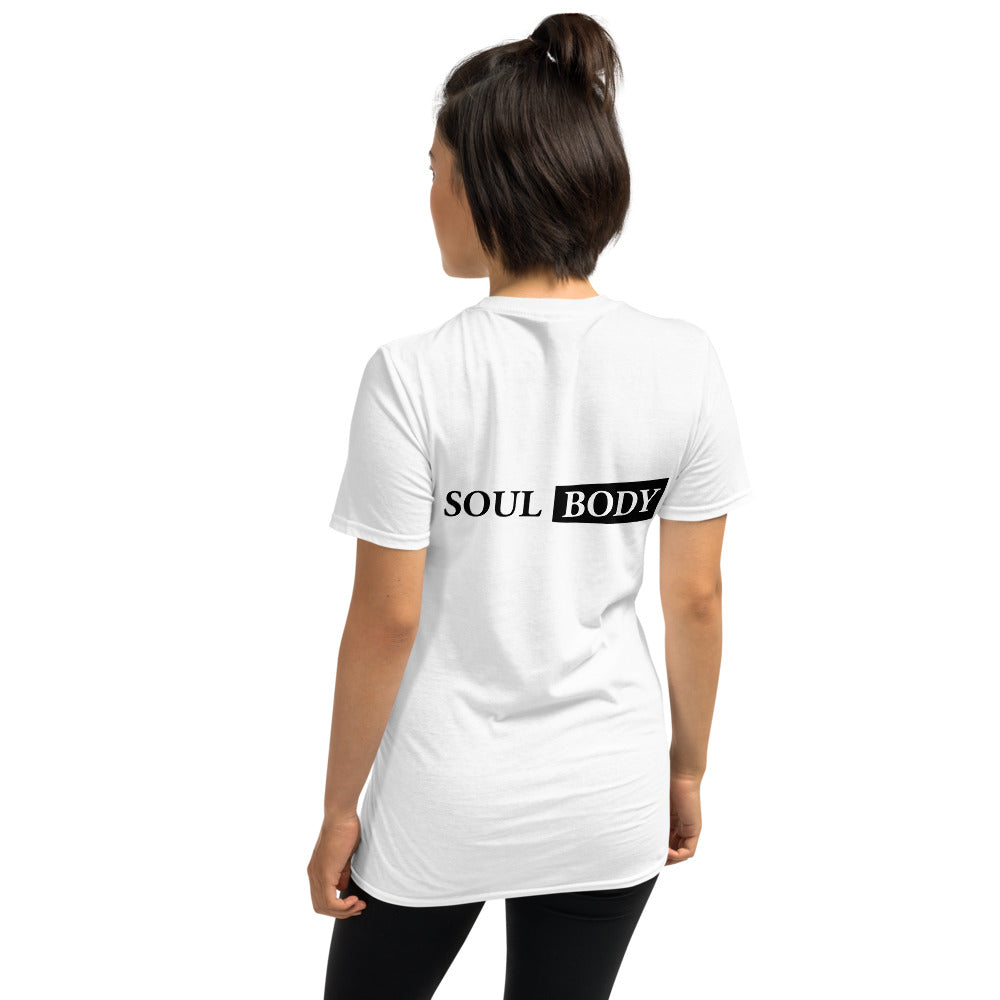 Knowledge is Security Printed White Short-Sleeve Women T-Shirt