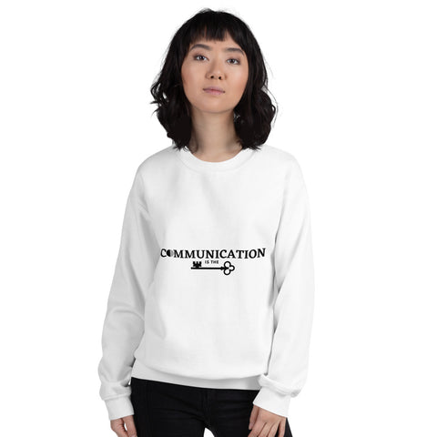 Communication is the key Women's Sweatshirt