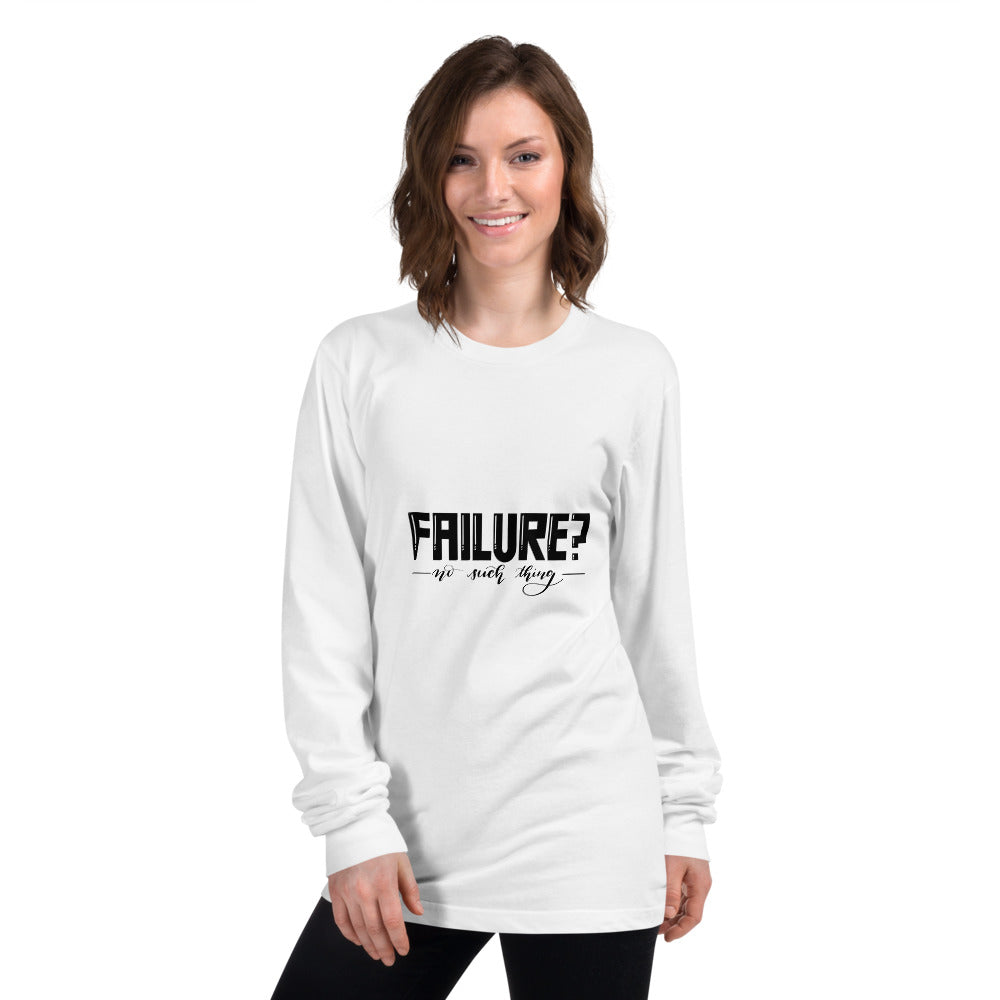 Failure No Such Things Printed Women White Long sleeve t-shirt