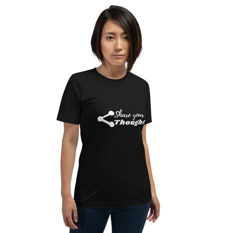 Share Your Thoughts Short-Sleeve Women's T-Shirt
