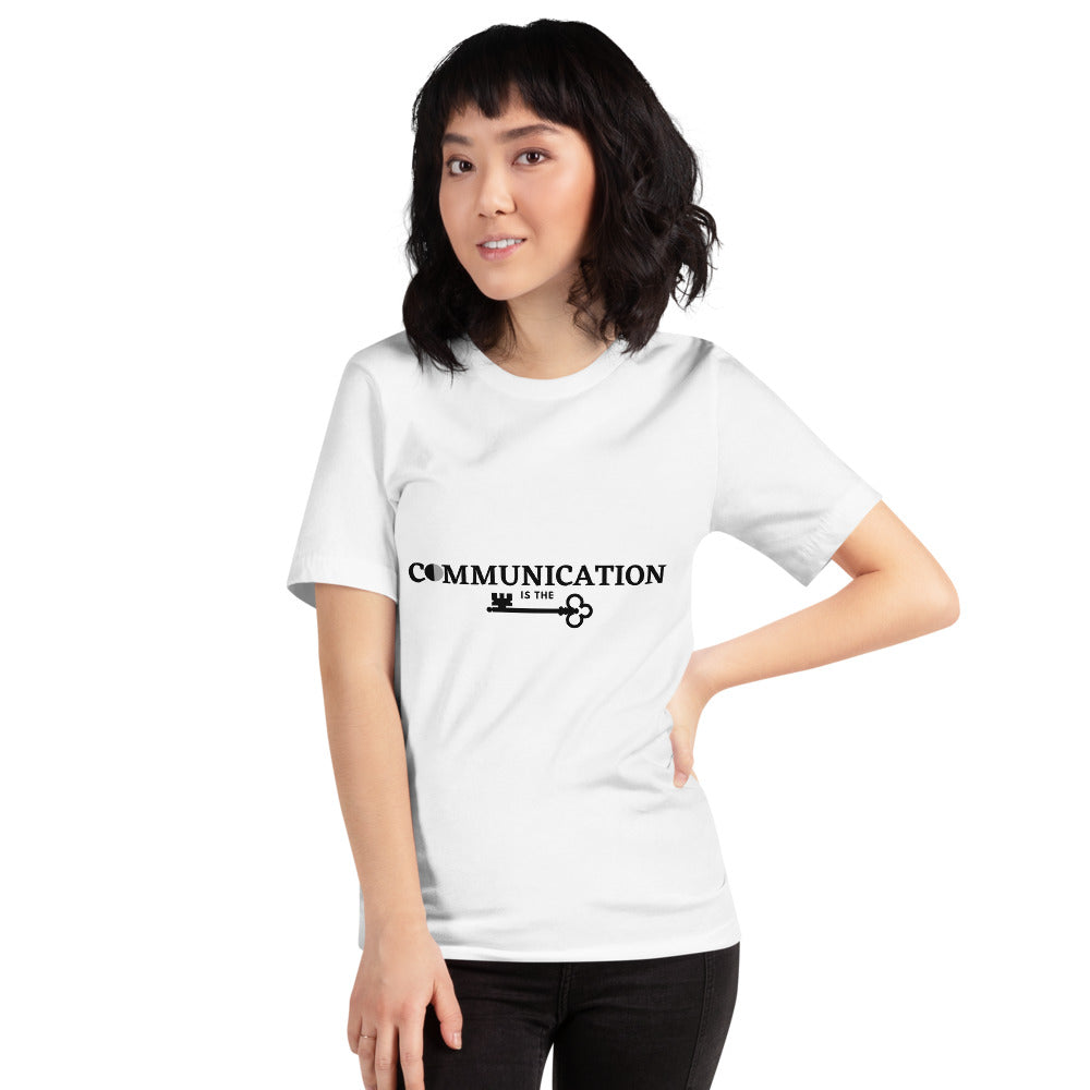 Communication is the key Short-Sleeve Women's T-Shirt