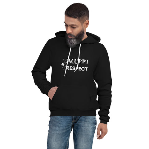 Accept & Respect Men's hoodie