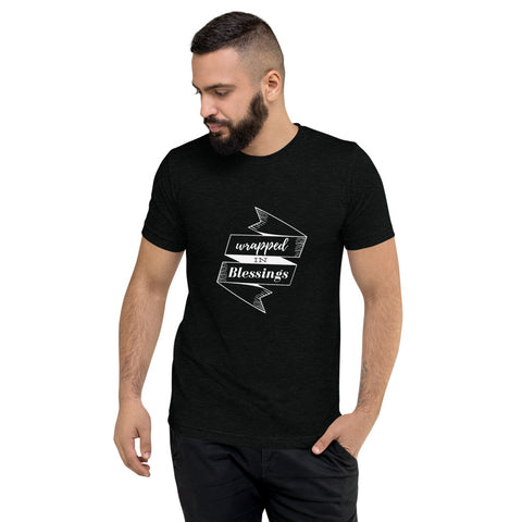 Wrapped in Blessings Short sleeve t-shirt
