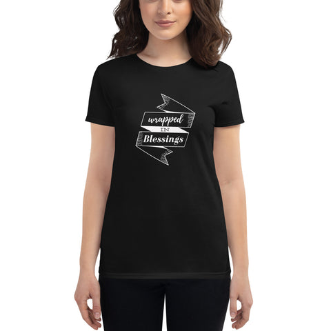 Wrapped in Blessings Women's short sleeve t-shirt