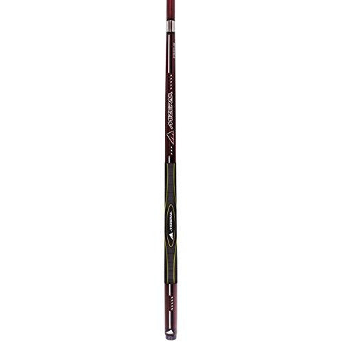 "Escalade Sports Mizerak Premium Carbon Composite 3D Grip Cue, 58"", Red"