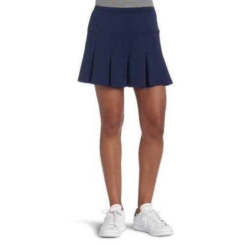 bollé Women's Essential Multi-Pleat Tennis Skirt, Essential Navy, X-Large
