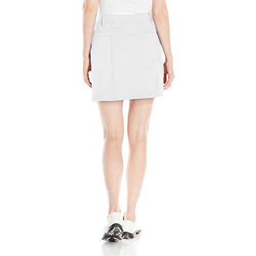 Cutter & Buck Women's Cb Drytec Kenzie Pleat Skort, White, 2