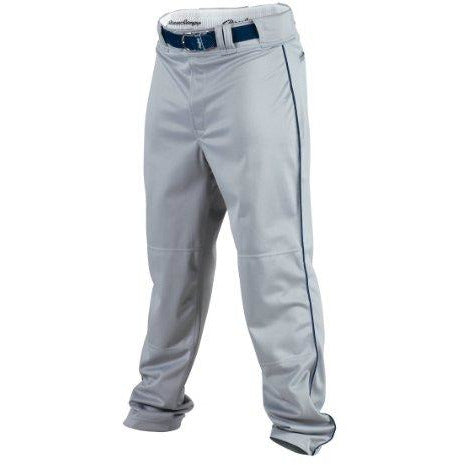 Rawlings Youth Baseball Pant (Blue Grey/Navy, Small)