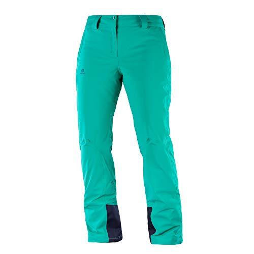 Salomon Women's Icemania Pant , Waterfall, Medium/Regular Inseam