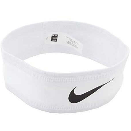 Nike Speed Performance Headband (One Size Fits Most, White/Black)