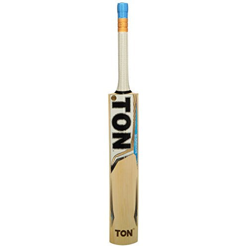 SS TON ELITE English Willow Cricket Bat (Free Extra SS grip, Anti Scuff Sheet & Bat Cover Included) - 2017 Edition
