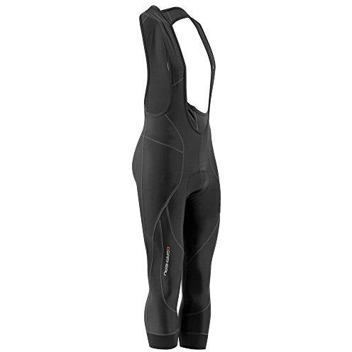 Louis Garneau Men's Enduro 3 Thermal, Padded, Compression Cycling Bib Knickers, Black, XX-Large