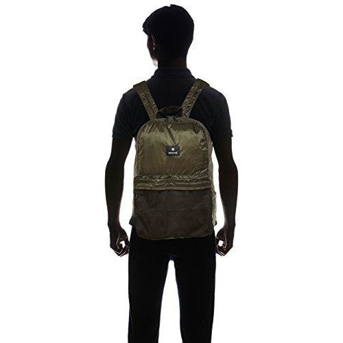 Snow Peak Pocketable Daypack, Olive, One Size