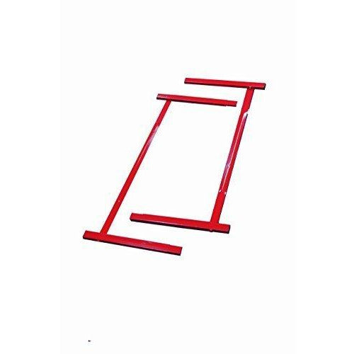 Tumbl Trak Junior Red Kip Bar Steel Extensions to Extend Base Supports, 4-Feet Width x 2-Feet Length