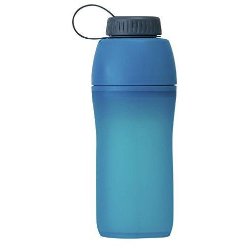 Platypus Meta Collapsible Water Bottle For Camping And Hiking, Bluebird Day, 0.75-Liter