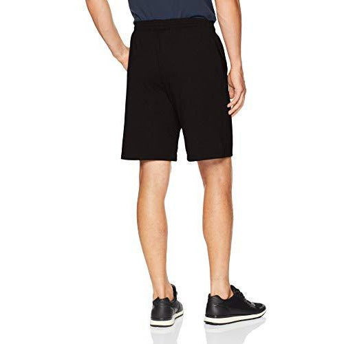 Champion Men'S Jersey Short With Pockets, Black, Xxx-Large