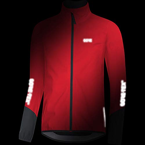 Gore Men's C5 Gtx Active Jacket,  red/black,  S