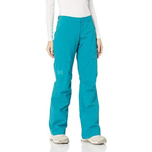 Burton Women's Ak Gore-Tex Summit Pant Insulated Snowboarding Pant, Harbor, X-Small
