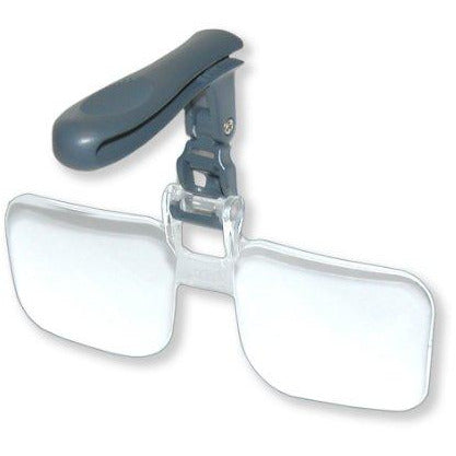 Carson Optical Visormag 1.75X Power (+3.00 Diopters) Clip-On Magnifying Lens For Hats Vm-10