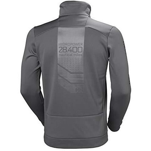 Helly Hansen Men's Hydropower Race Inspired Fleece Jacket, 971 Quiet Shade, X-Large
