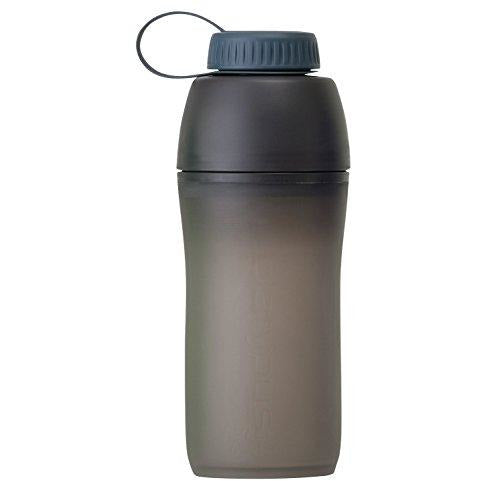 Platypus Meta Collapsible Water Bottle For Camping And Hiking, Slate Gray, 0.75-Liter