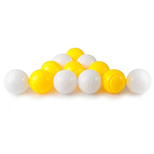 "Pack Of 12 Kids Plastic Toy 2.5"" Balls - Replacement Balls, Also For Use With The Power-Pro Baseball Pitching Machine By Dimple"