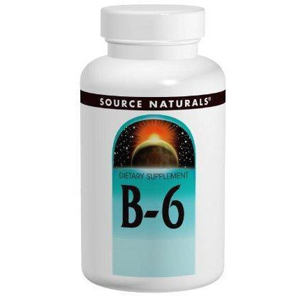 Source Naturals Vitamin B-6 100Mg, Immune System Support, 100 Tablets