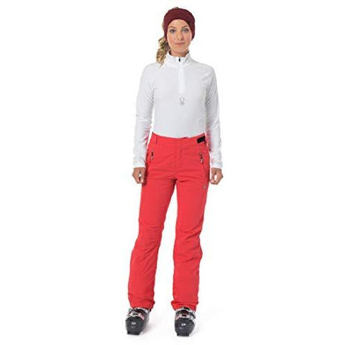 Spyder Women's Winner Gore-tex Ski Tailored Fit Pants, Hibiscus/Hibiscus, Size 4