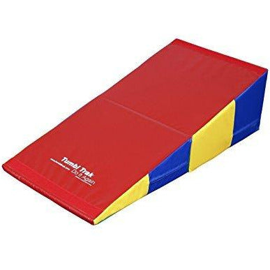 Tumbl Trak Cheese Mat, Primary Rainbow, 24 x 48 x 14-Inch
