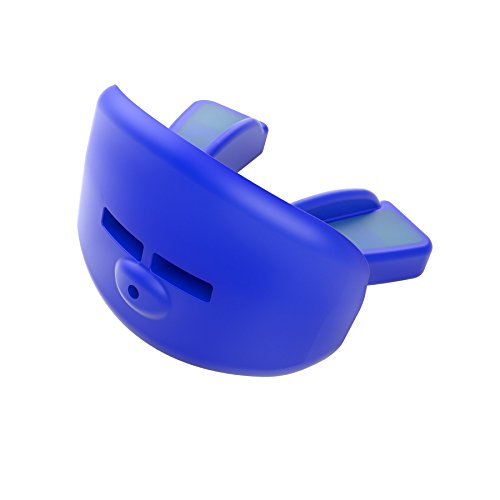 Shock Doctor Low Profile Lip Guard Convertible Mouth Guard, Youth, Blue