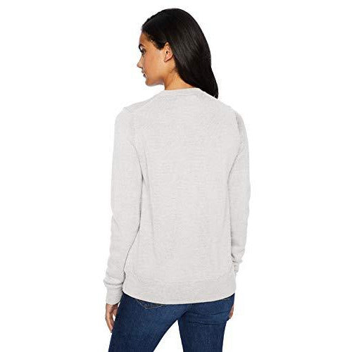 Icebreaker Merino Women's Muster Crewe Athletic Sweaters, X-Small, Steel Heather