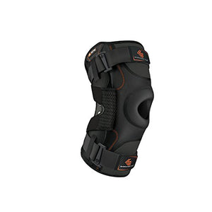 Hinged Knee Brace: Shock Doctor Maximum Support Compression Knee Brace - For Acl/Pcl Injuries, Patella Support, Sprains, Hypertens