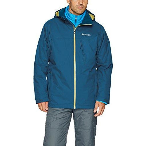 Columbia Men's Whirlibird Interchange Jacket, X-Large, Phoenix Blue