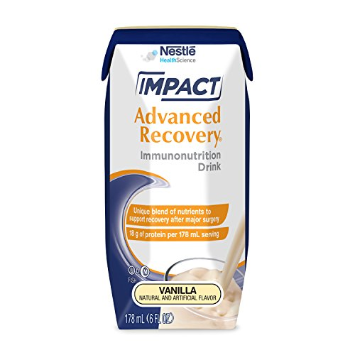 Impact Advanced Recoveryâ® Immunonutrition Drink Vanilla 6 Fl Oz Box 15 Pack
