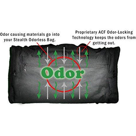 Stealth Odorproof Pocket Pouch (Black)