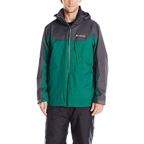 Columbia Men's Whirlibird Interchange Jacket, Wildwood Green/Shark, XX-Large
